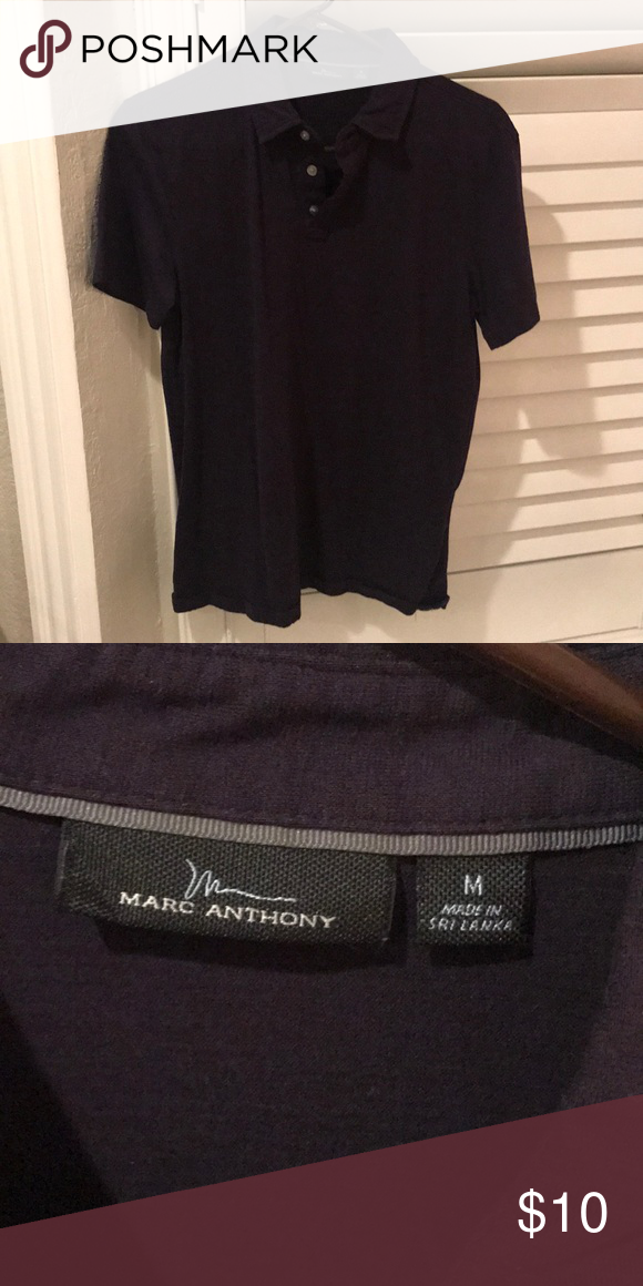 Marc Anthony Eggplant Polo Marc Anthony Mens Tops Polo