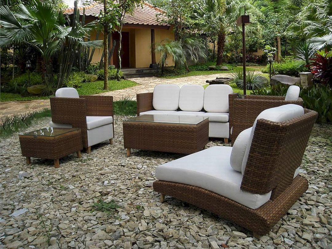 15 Minimalist Outdoor Patio Furniture Ideas That Will Make Backyard More Awesome Freshouz Com Outdoor Furniture Decor Outdoor Garden Furniture Outdoor Wicker Furniture