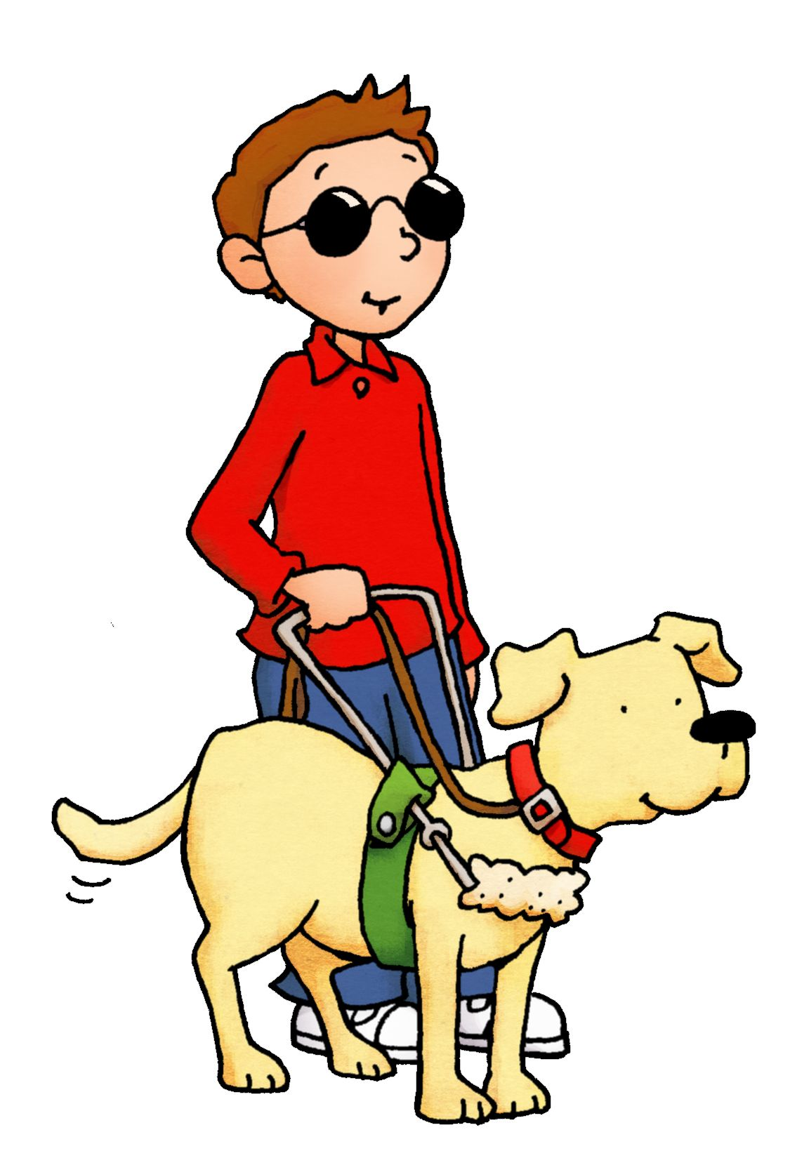 Seeing Eye Dog Clip Art Want To Know More Click On The Image