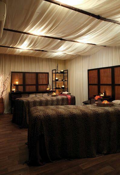 Fabric ceiling treatment