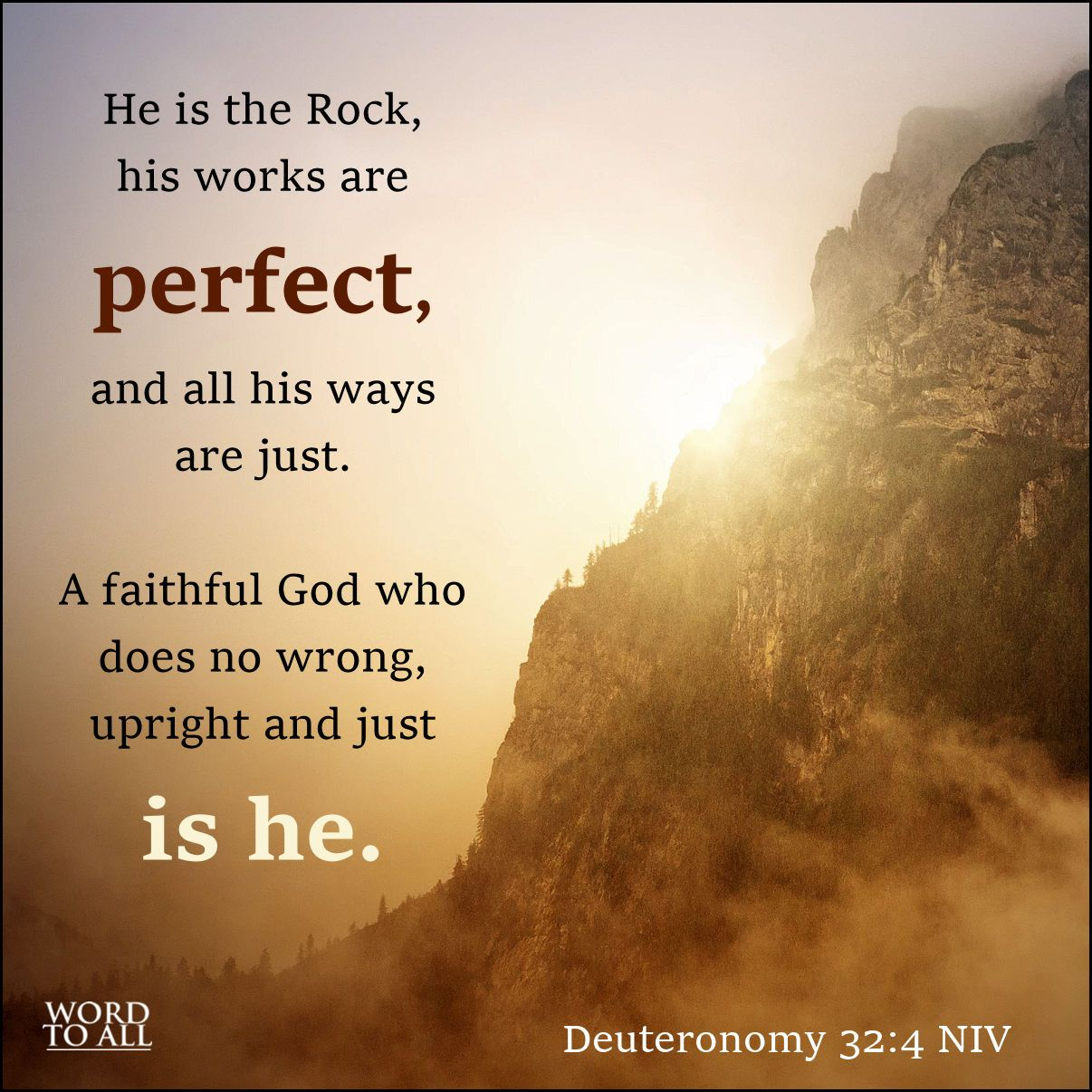 Image result for god is faithful in all his ways