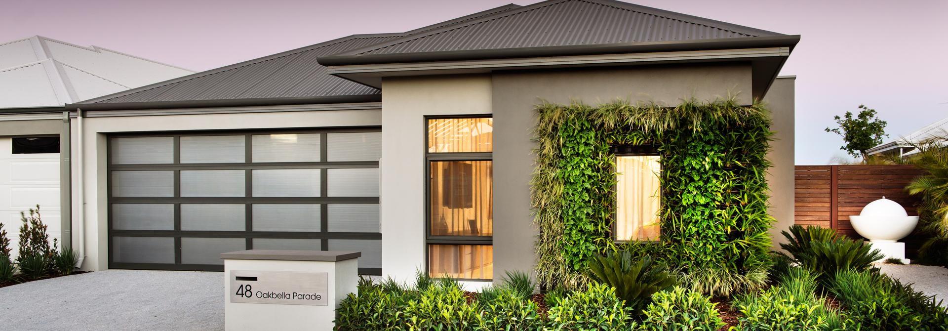 Botanica Display Home Elevation Architecture