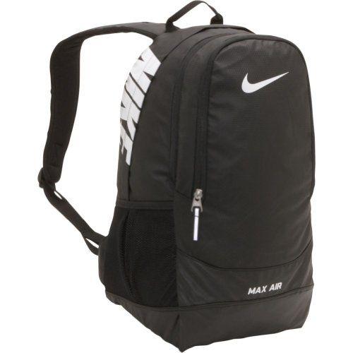 3c5d2633ec Nike Nike Team Training Max Air Large Backpack (Black Black  White ...