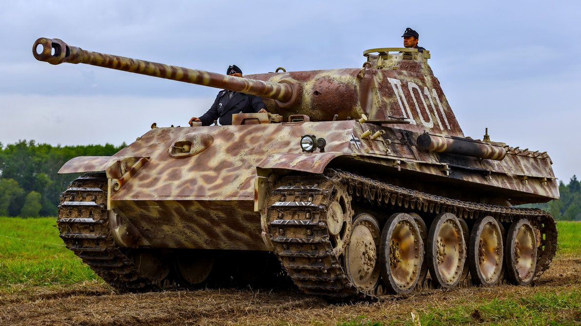 panther by fly10 | Panther tank, Military illustration ...