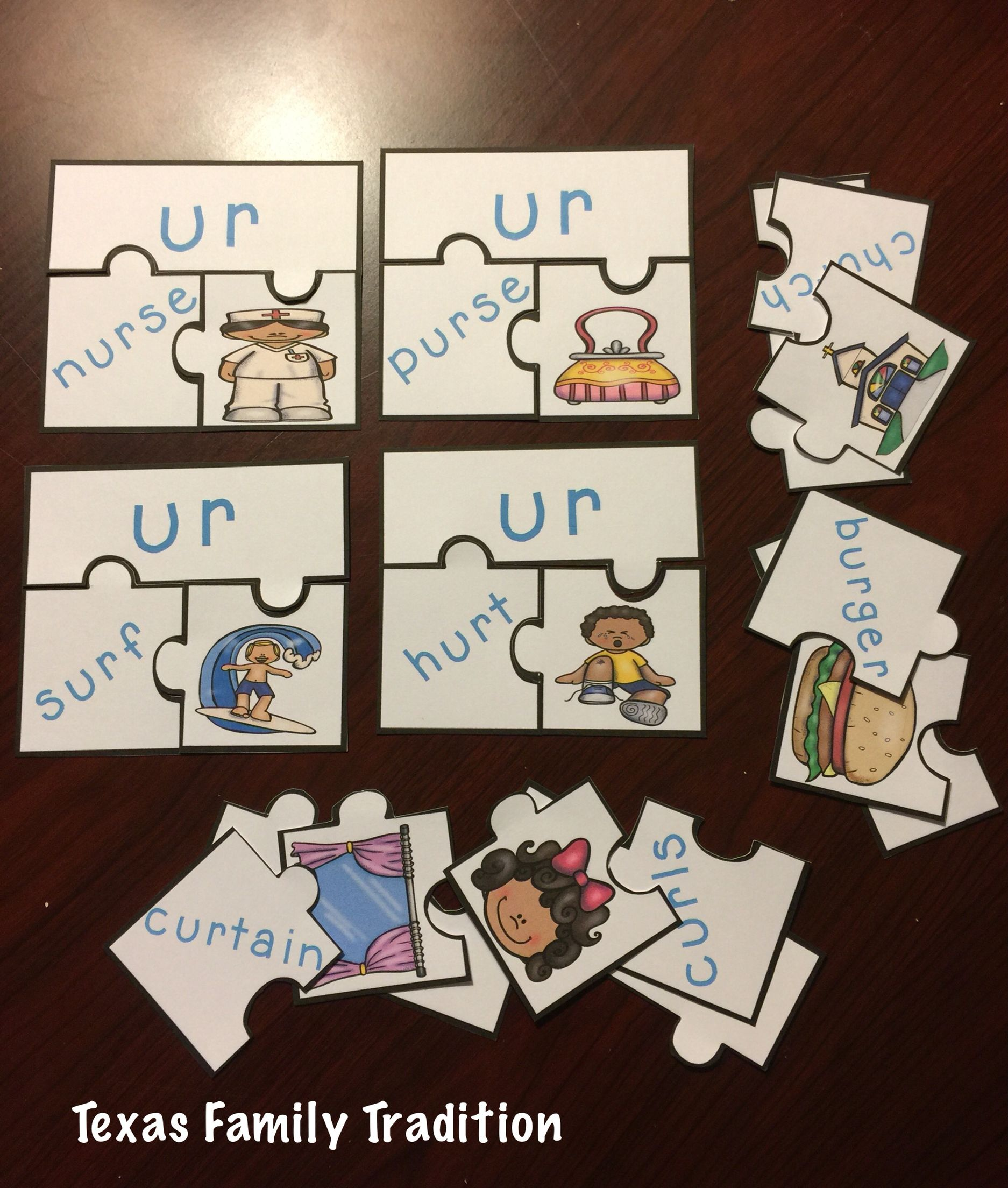 Bossy R Puzzle Sort With Images