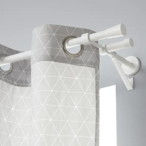 support double tringle a rideau design