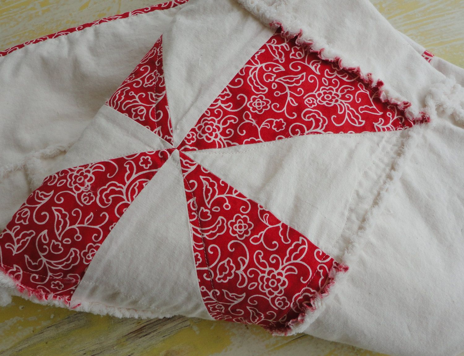 Christmas Tablecloth Patchwork Quilt