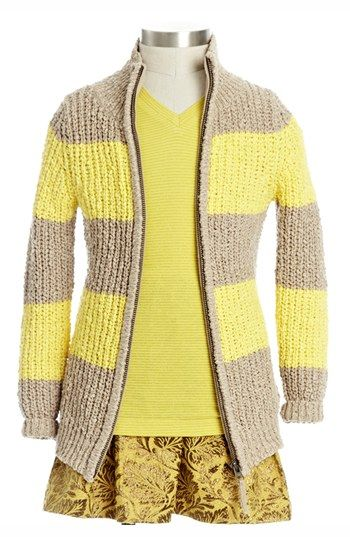 Peek 'Vienna' Knit Sweater(Toddler Girls, Little Girls & Big Girls) available at #Nordstrom