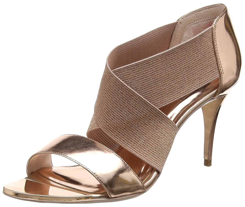 Zapatos negros de punta abierta formales L.K.Bennett para mujer cai94416Hs