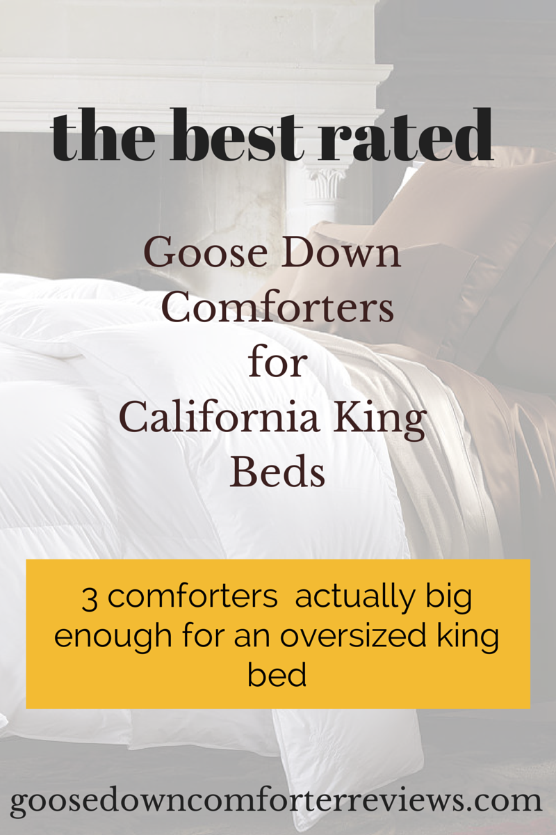 Top 3 California King Down Comforters   The Best Rated Comforters For Oversized  King Beds