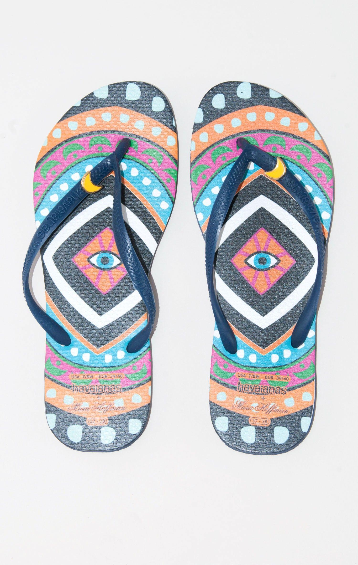 HAVAIANAS X MARA HOFFMAN sandals #planetblue #whatsnew