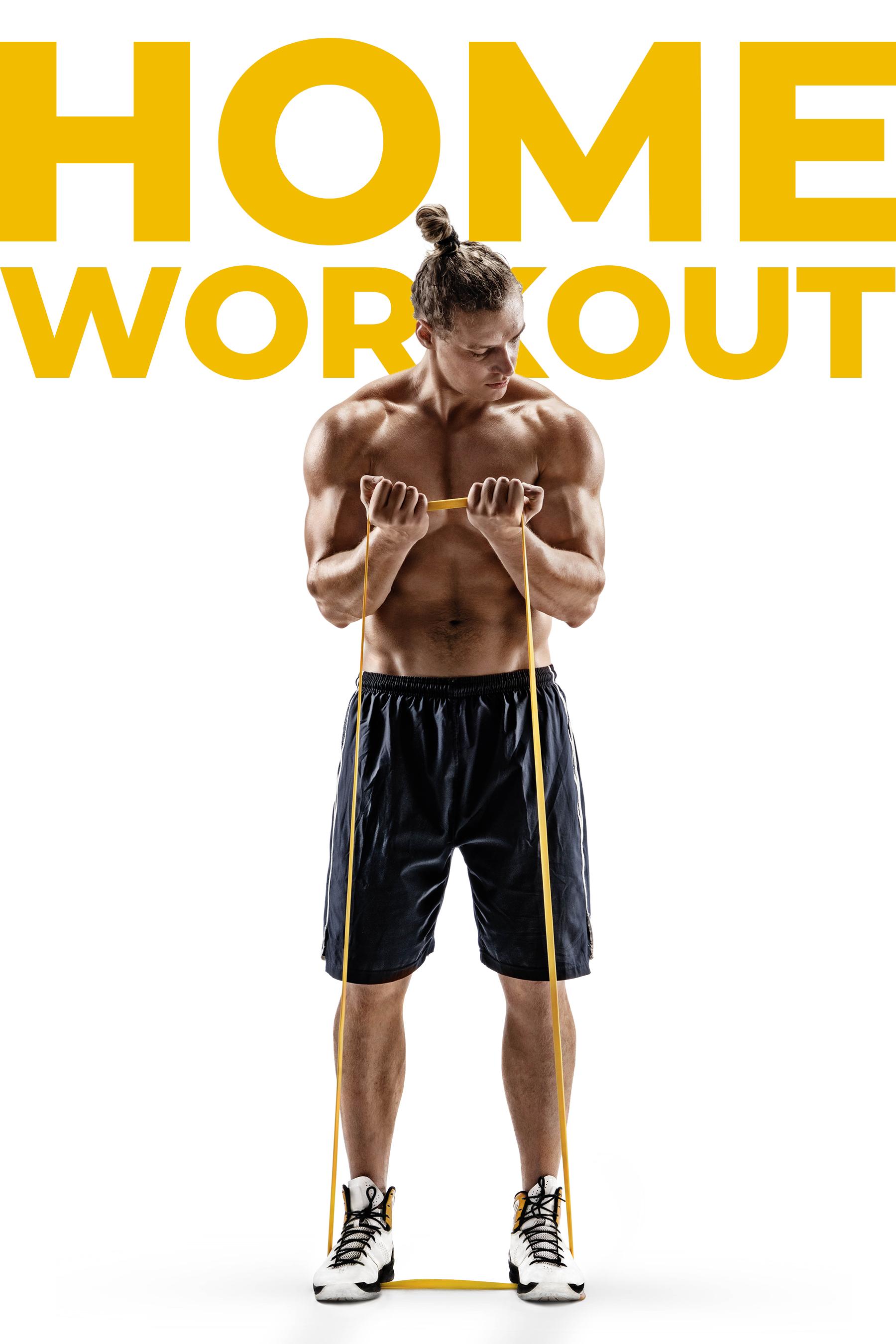 Muskelaufbau ohne Geräte oder Fitnessstudio. Ganz einfach