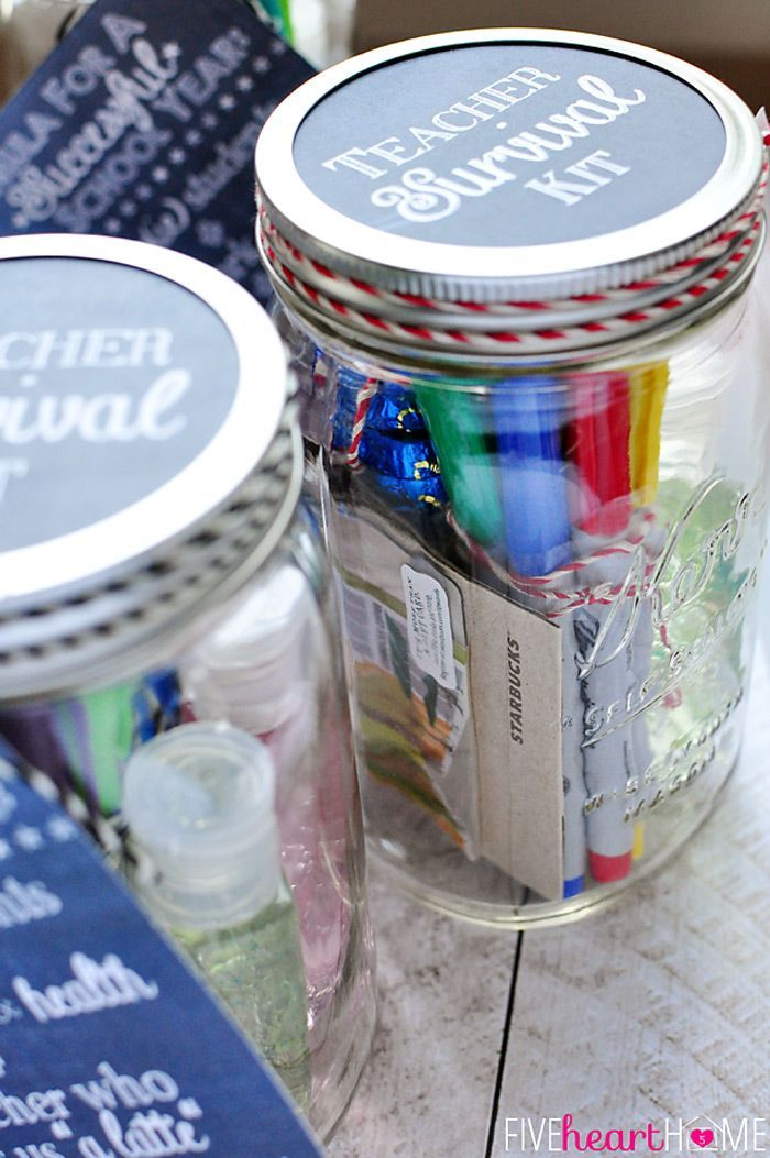 17 Fun Creative And Useful Teacher Gift Ideas Teacher Gifts