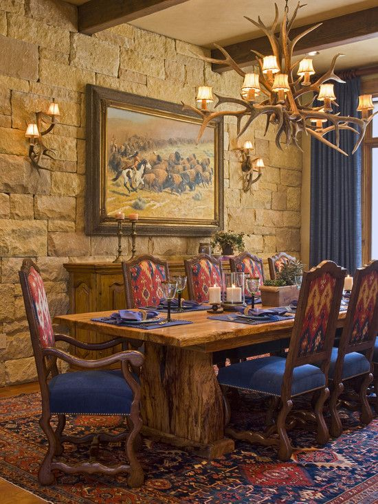 Austin Traditional Dining Room Design Pictures Remodel Decor Adorable Western Style Dining Room Sets Design Ideas