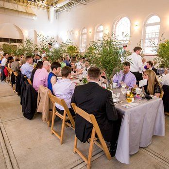 North Hall at Eastern Market - Washington, DC, United States. Darek and Daniel's wedding reception: April 18th, 2015