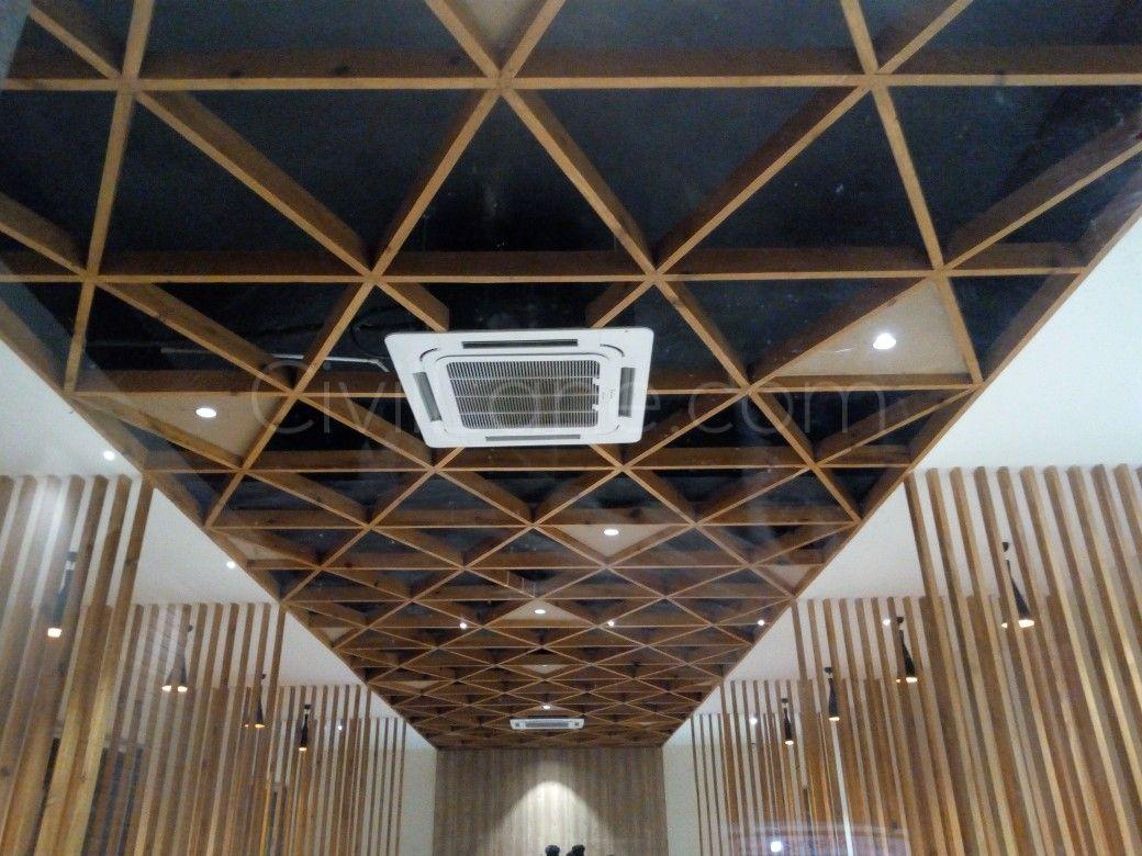 Wooden False Ceiling Design For Restaurant False Ceiling Design