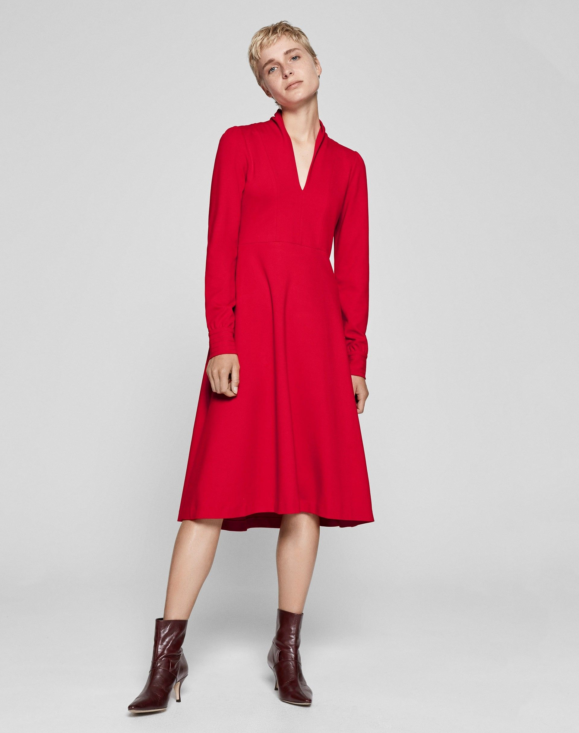 This seasonus biggest trend is red hot whether worn headtotoe or