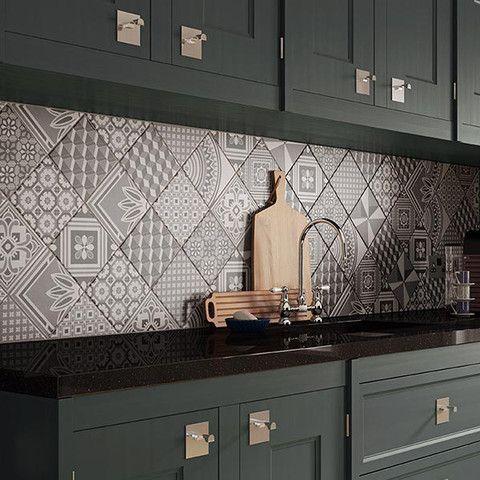 Ted Baker Geo Tiles (148x148) \u2013 Tiles 2 Paving City Home Ideas - fliesenspiegel küche überkleben