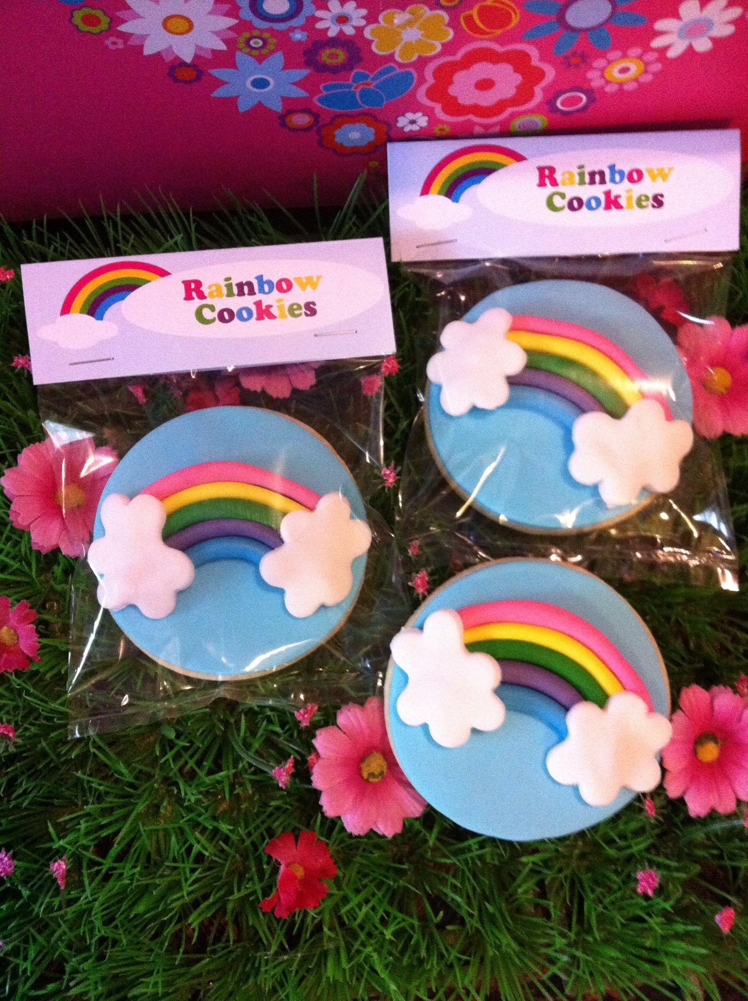 Rainbow Cookies Rainbow cookies, Unicorn cookies, My