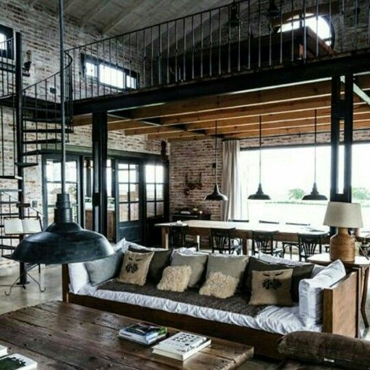 Rustic Industral Bathchlor Interior Design: Pin By Robert Wisberg On Cabin Ideas