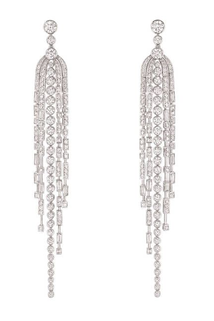 Chanel Diamond Earrings From S 1932 Collection