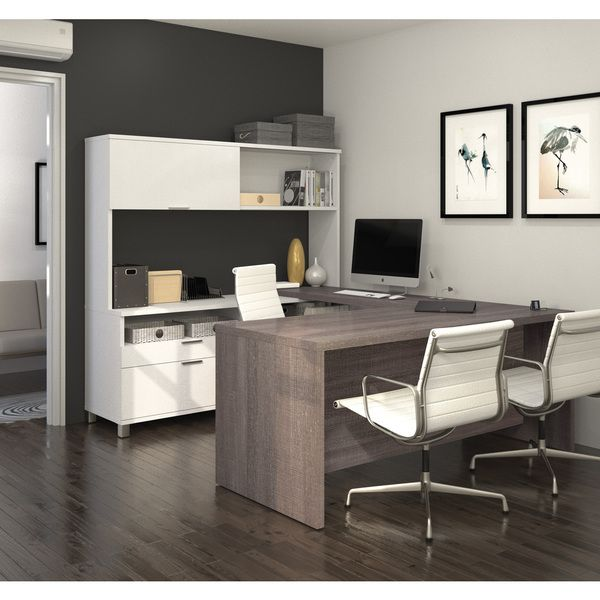 Overstock Com Online Shopping Bedding Furniture Electronics Jewelry Clothing More U Shaped Office Desk Home Office Design Home