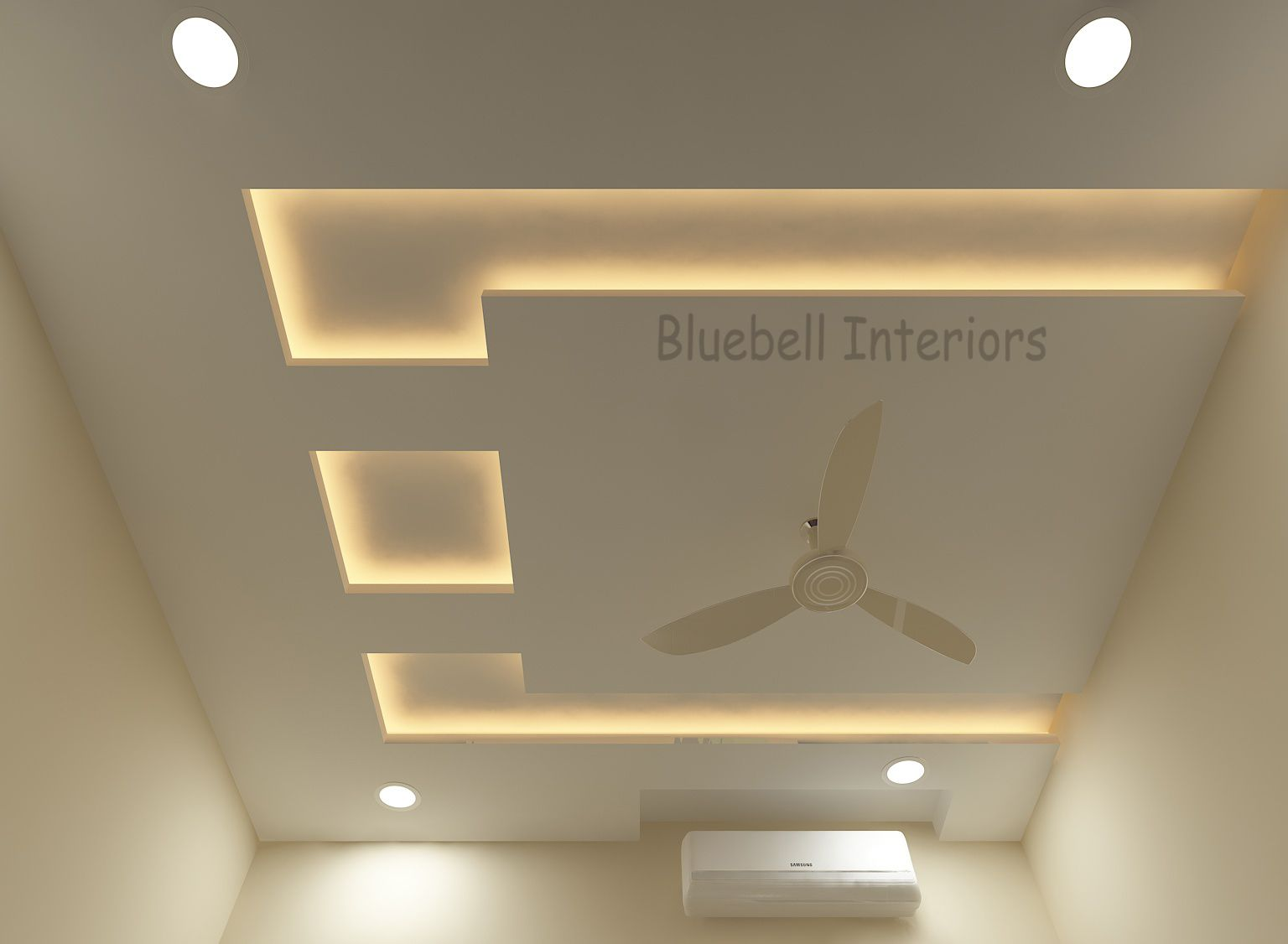 False Ceiling Design In Bedroom Lighted Ceiling Ceiling De