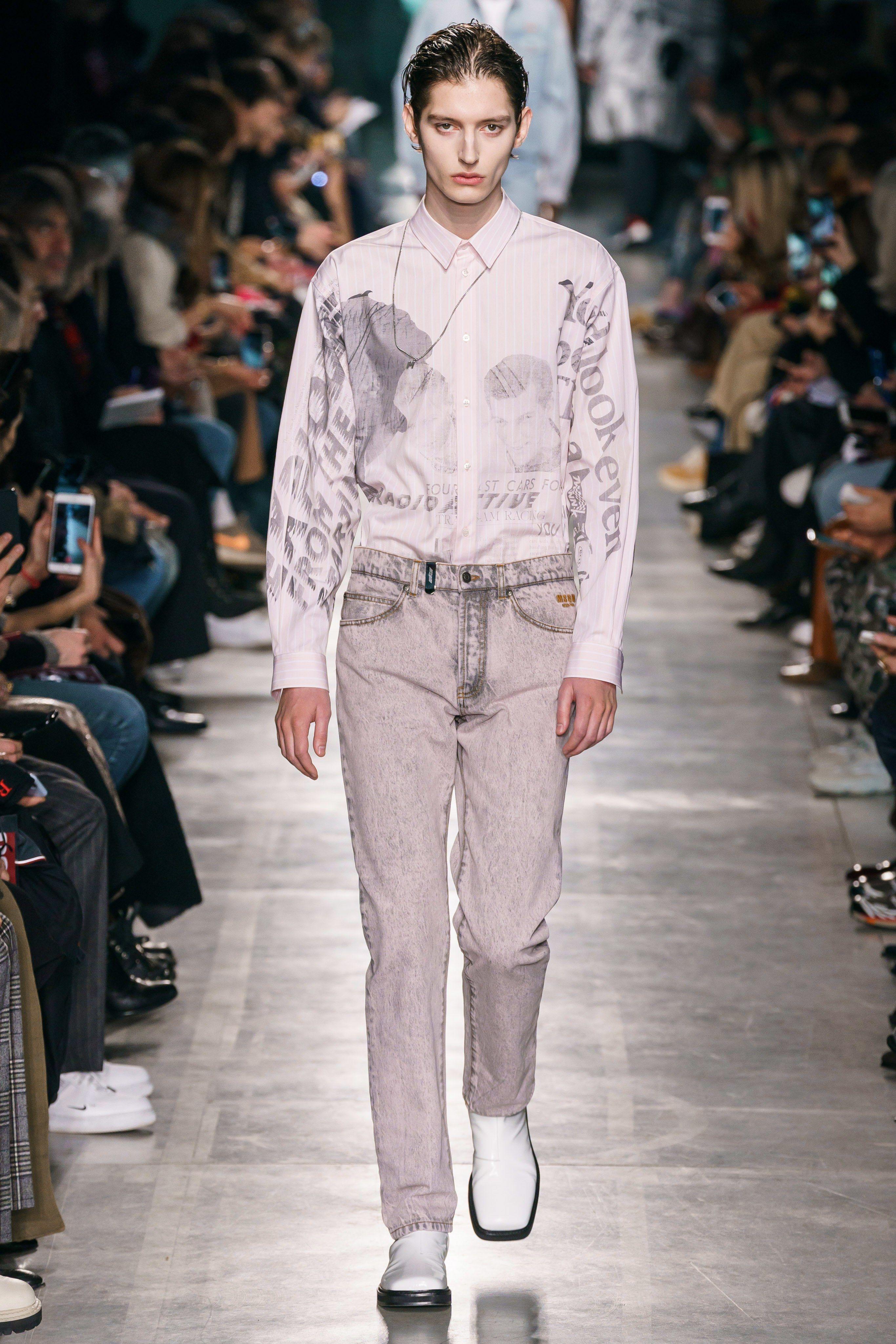 291bdfc4ebc MSGM Fall 2019 Menswear Fashion Show in 2019   Menswear Runway ...