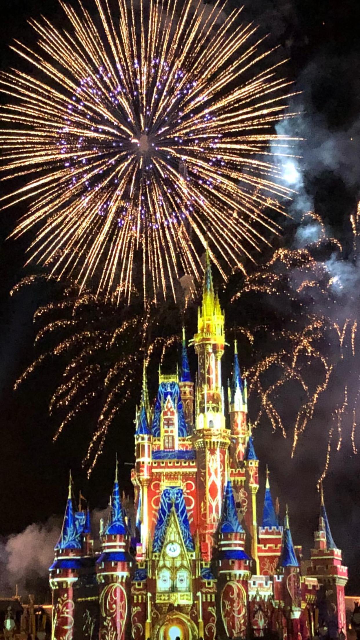 WDW Happily Ever After Fireworks Disney Magic Kingdom