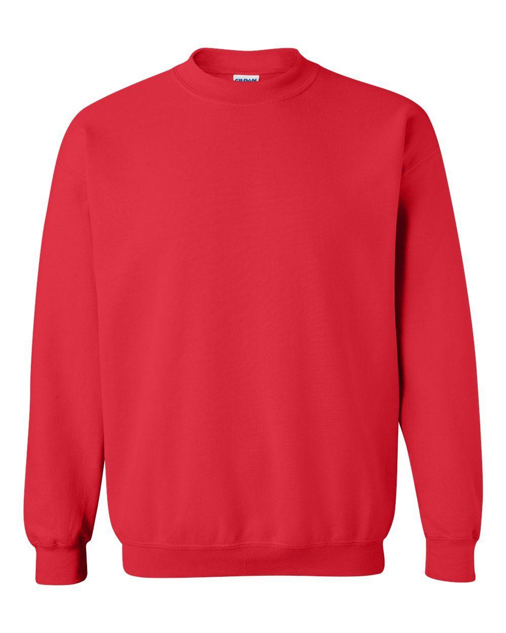 Gildan Heavy Blend Crewneck Sweatshirt 18000 In 2021 Women Pullover Sweatshirts Crew Neck Sweatshirt [ 1250 x 1000 Pixel ]