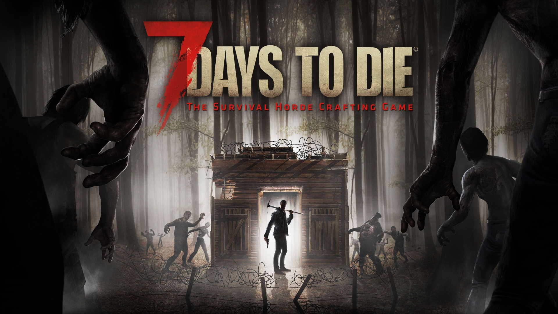 Pin By Jaime Ward On I M A Gamer 7 Days To Die Xbox One Die Games