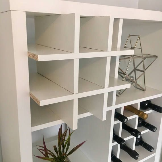 Wine Rack Insert For Ikea Kallax Expedit Storage Unit Bottle