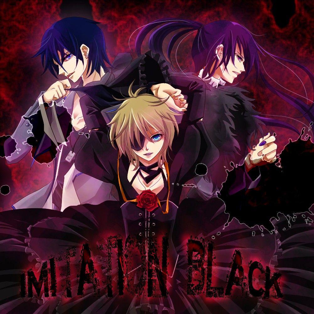 Kagamine Len x Kaito x Kamui Gakupo - Imitation Black ... Kaito X Len X Gakupo