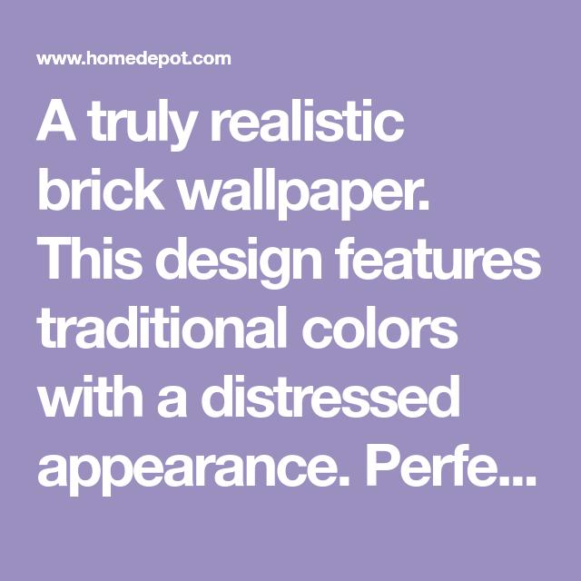 Brewster Dusty Red Reclaimed Bricks Rustic Wallpaper ...