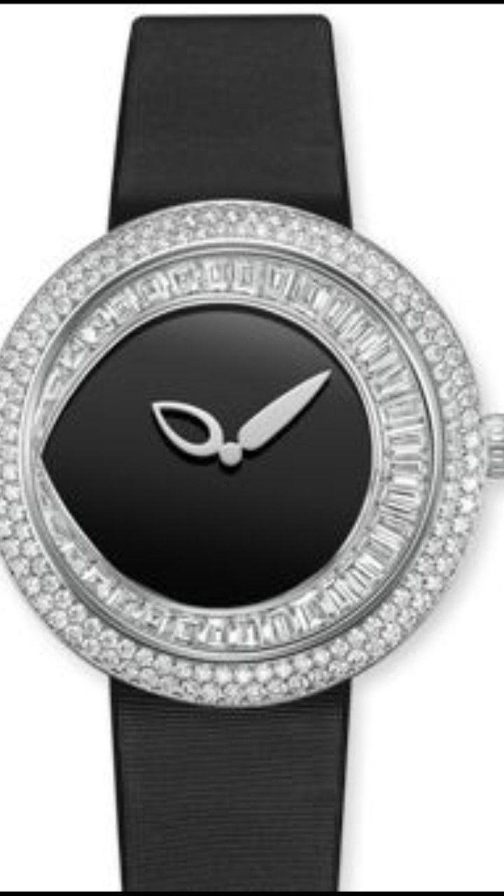 "CHAUMET - Joséphine Collection ""Rondes de Nuit"" - Large model - A precious  watch where the jeweller's art is dedicated to the serv…"