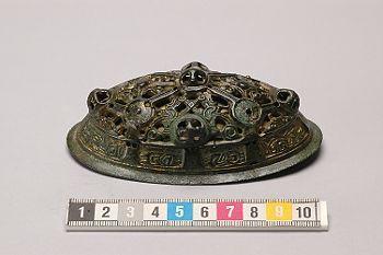 Oval brooch from Skåne, Sweden