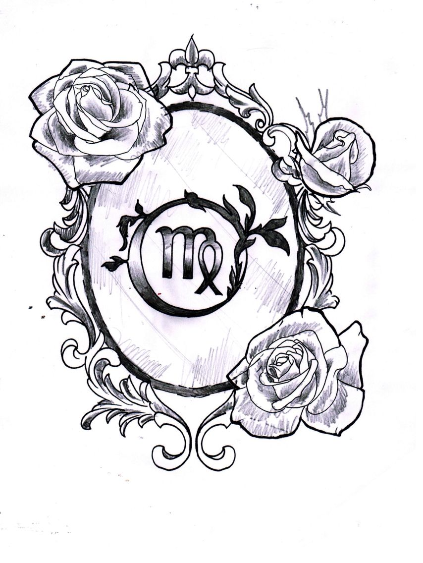 27ce2ce089de1 My new tattoo #virgo #tattoo Zodiac Sign Tattoos, Virgo Tattoos, Back  Tattoos