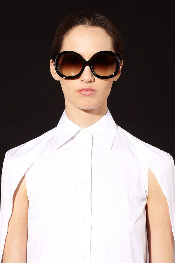 Obsessed with the look of these oversized shades from Balenciaga.