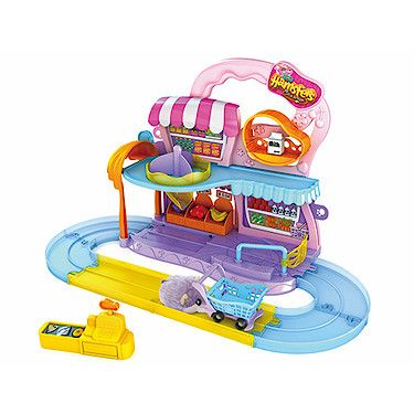 Hamsters In A House Supermarket Playset Hamster Hamster Live Playset