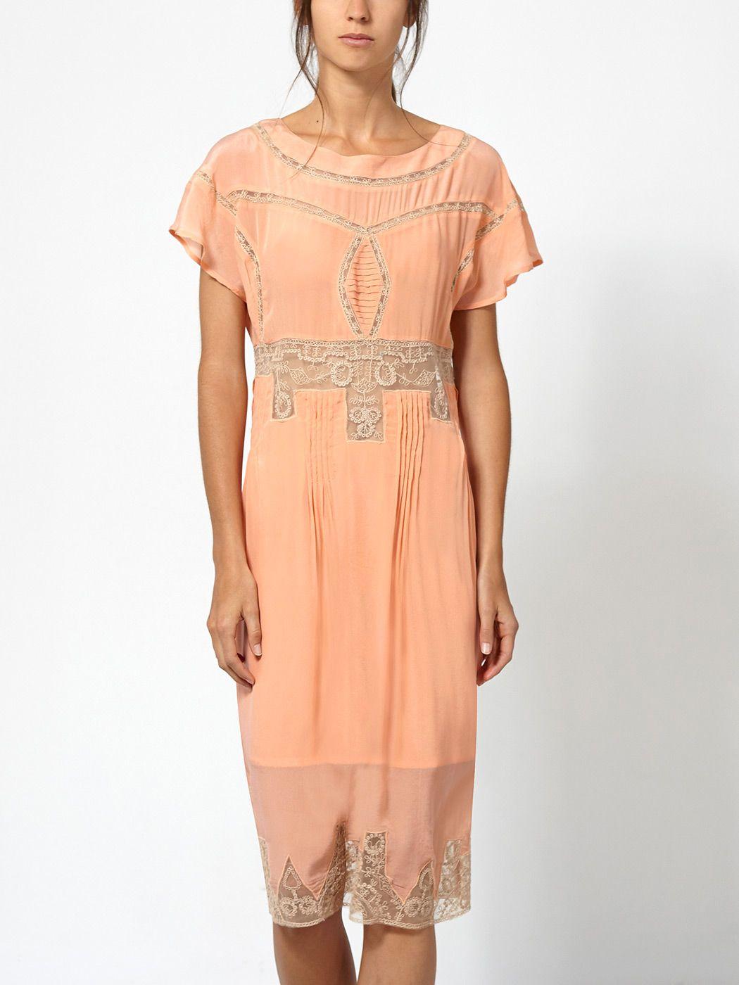 Hoss intropia yellow lace dress