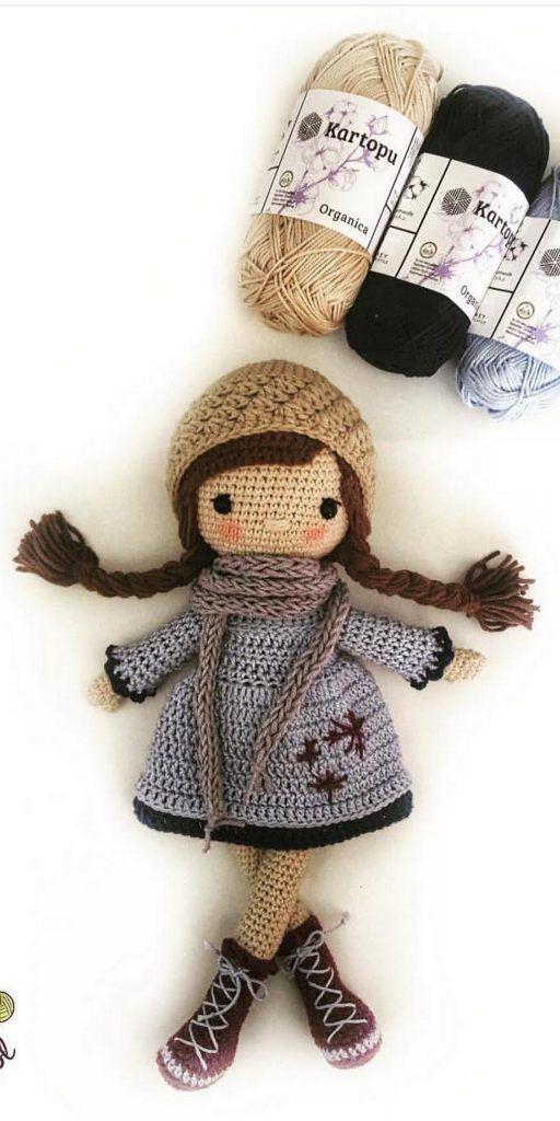 Free Amigurumi Dolls Crochet Patterns - Amigurumi #amigurumidoll