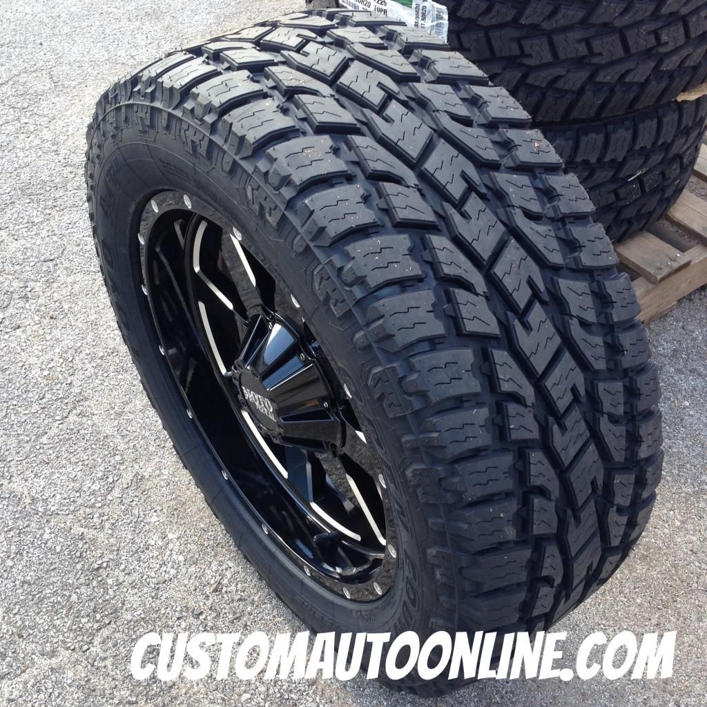 20x9 Moto Metal 962 Black - LT285/55r20 Toyo Open Country At2 | Wheels and  tires, White truck, Buy tiresPinterest