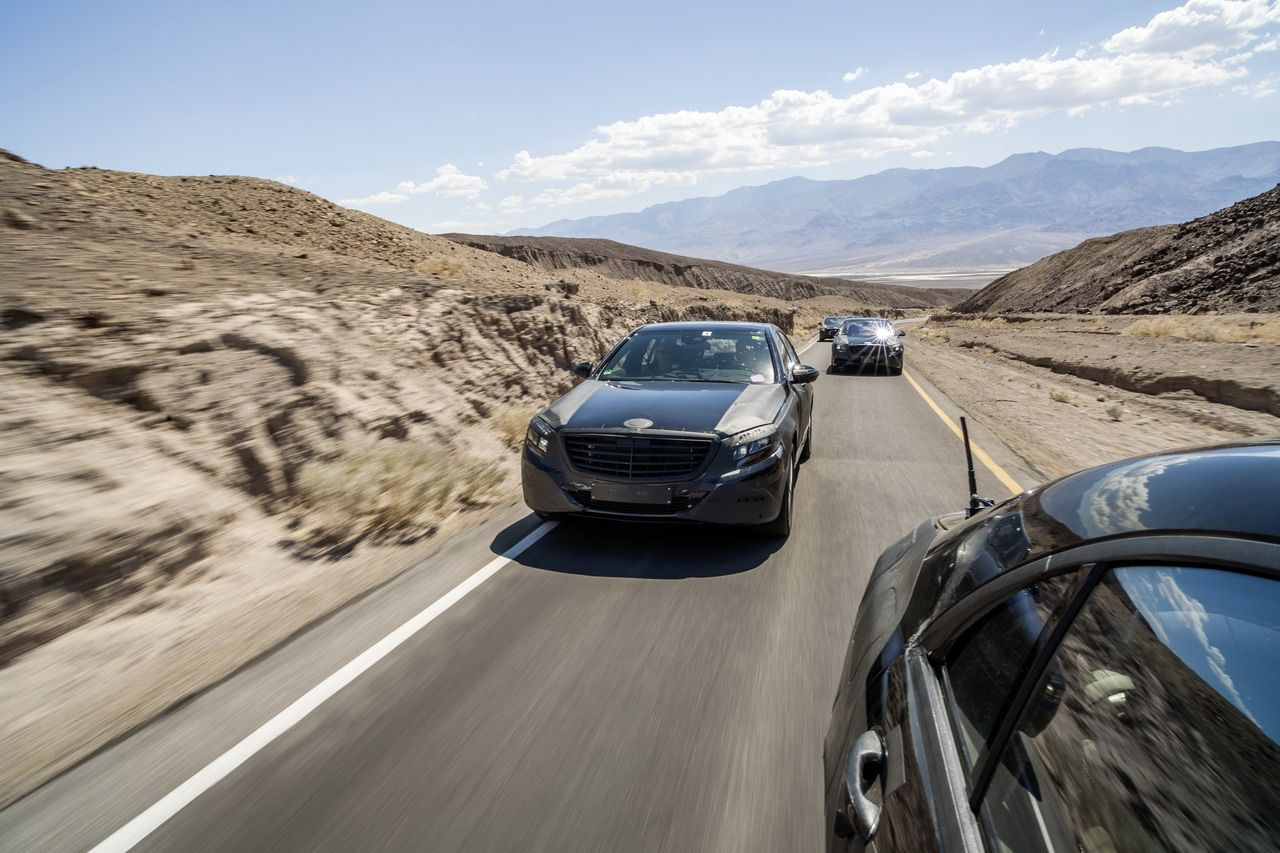 MercedesBenz SClass Pioneers Safety Technologies Car