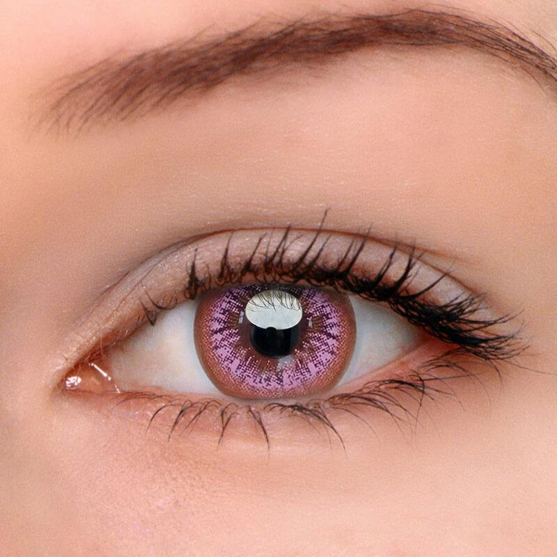 Pin On Pink Contact Lenses