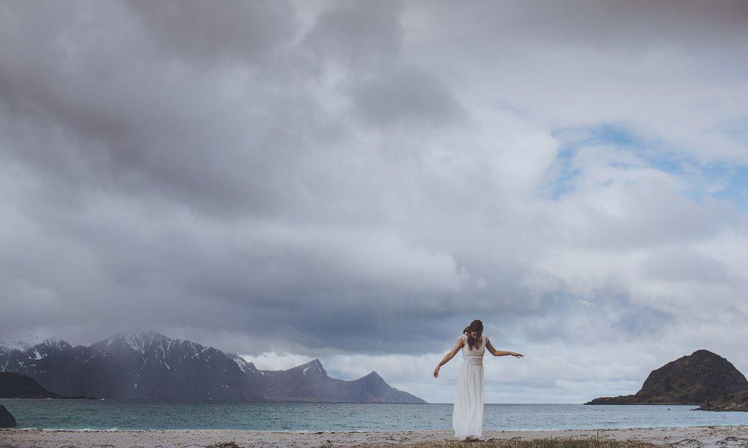 FESTIVAL BRIDES | Håvard and Stine's Lofoten Islands Elopement, Norway photography