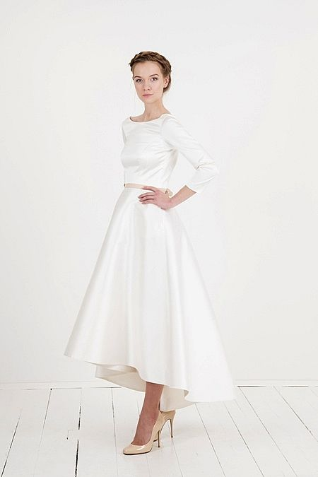 wedding dress // Brautkleid nach Maß via elfenkleid: feel modern yet ...