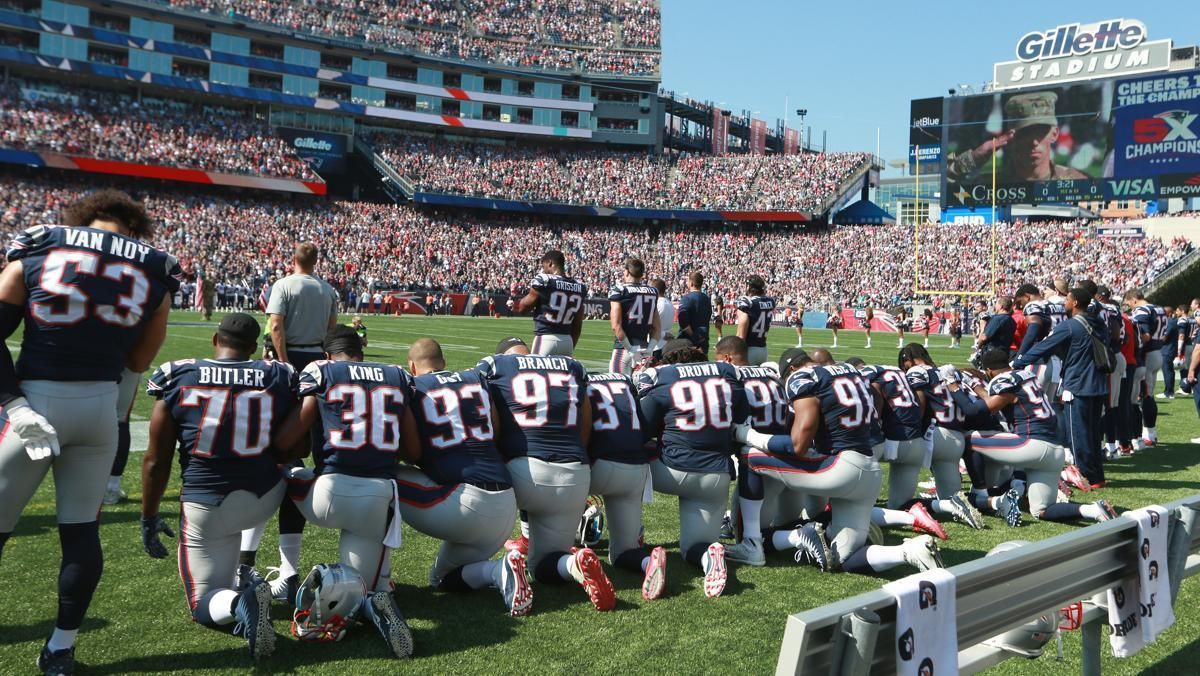 Why Are They Kneeling Nfl Tickets National Anthem Nfl Week