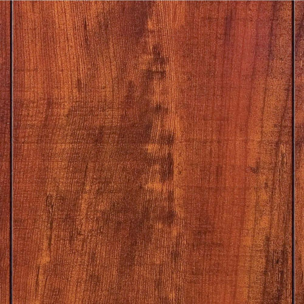 Home Decorators Collection High Gloss Perry Hickory 8 Mm Thick X 5 In Wide X 47 3 4