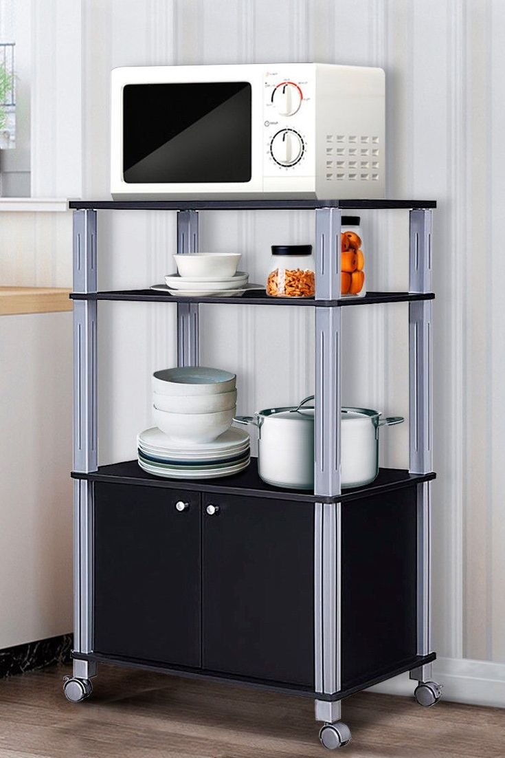 this microwave stand will make your kitchen neat and tidy giving you a high quality and more on kitchen organization microwave id=79448