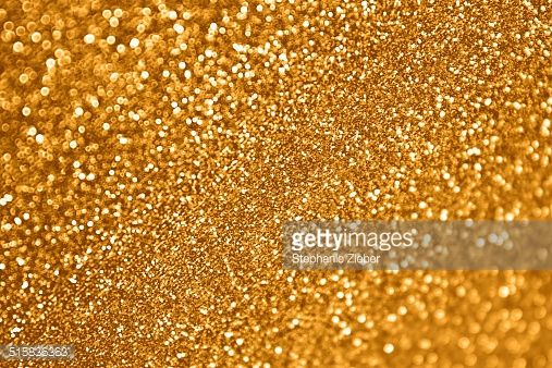 Stock Photo : Gold Glitter Background